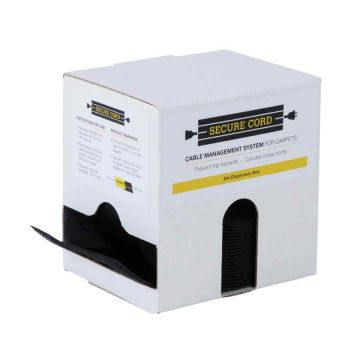 Secure Cord 5m Dispenser Box (Black)