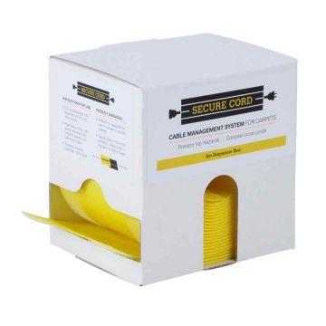 Secure Cord 5m Dispenser Box (Yellow)