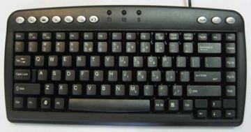 Bakker Elkhuizen Q-Board Compact Keyboard Black