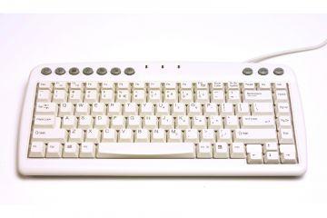Bakker Elkhuizen Q-Board Compact Keyboard White