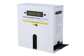 Secure Cord 25m Dispenser Box (Black)