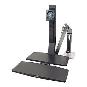 WorkFit-A, LCD HD with Worksurface