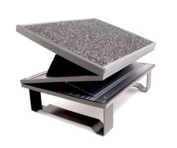 Z-Rest Draftsmans Footrest with Carpet Surface
