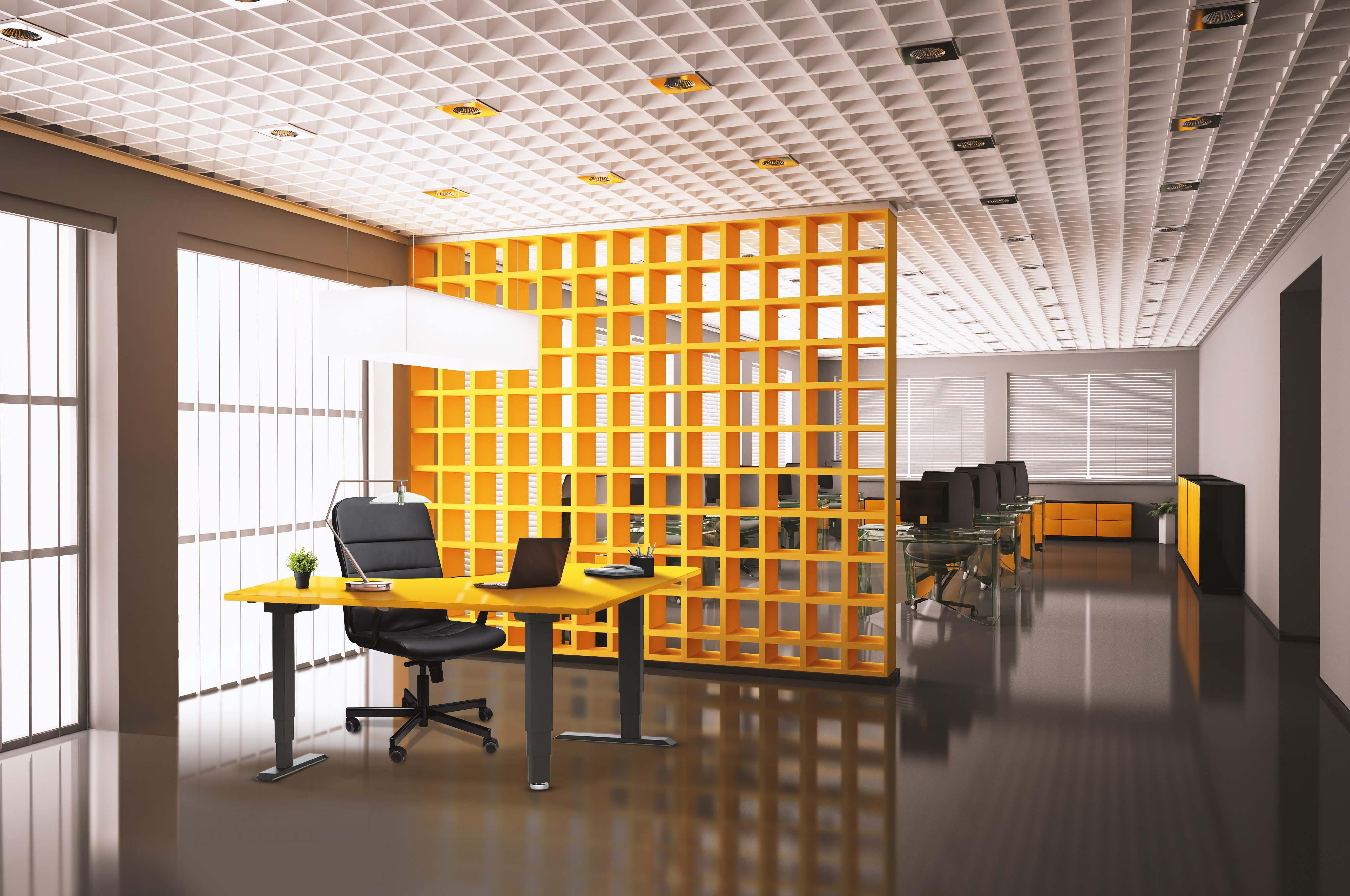 Elevar Corner Electric Sit to Stand Workstation