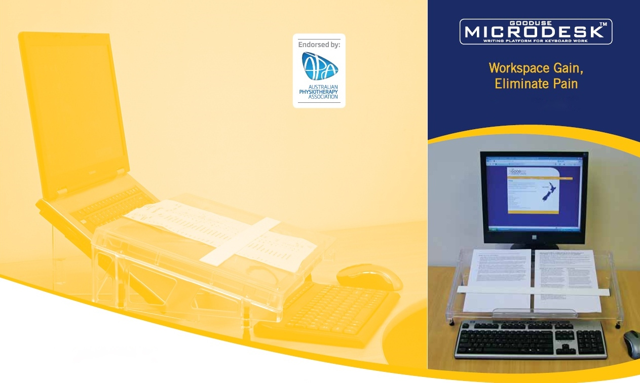 Microdesk - Endorsed by the Australian Physiotherapy Association